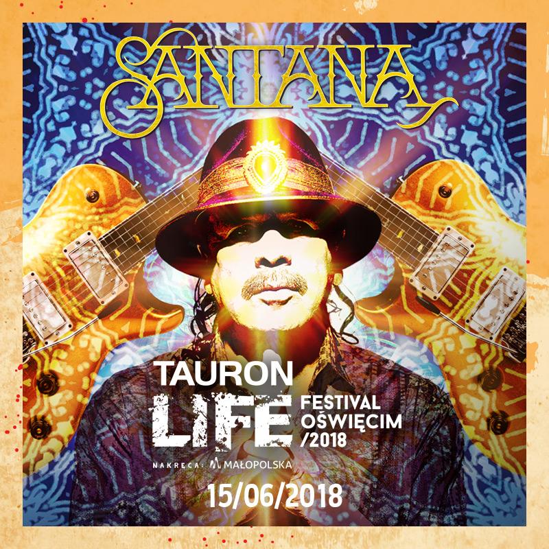 Santana na Tauron Life Festival Oświęcim /Materiały prasowe
