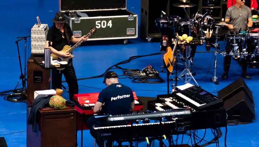 Santana zagra premierowe utwory na TLFO!