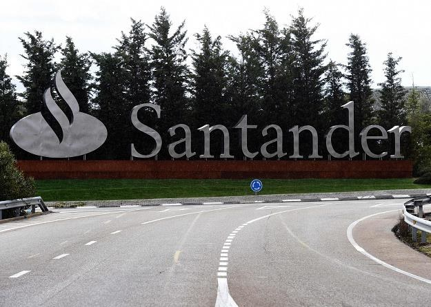 Santander Bank, wjazd do siedziby koło Madrytu /AFP