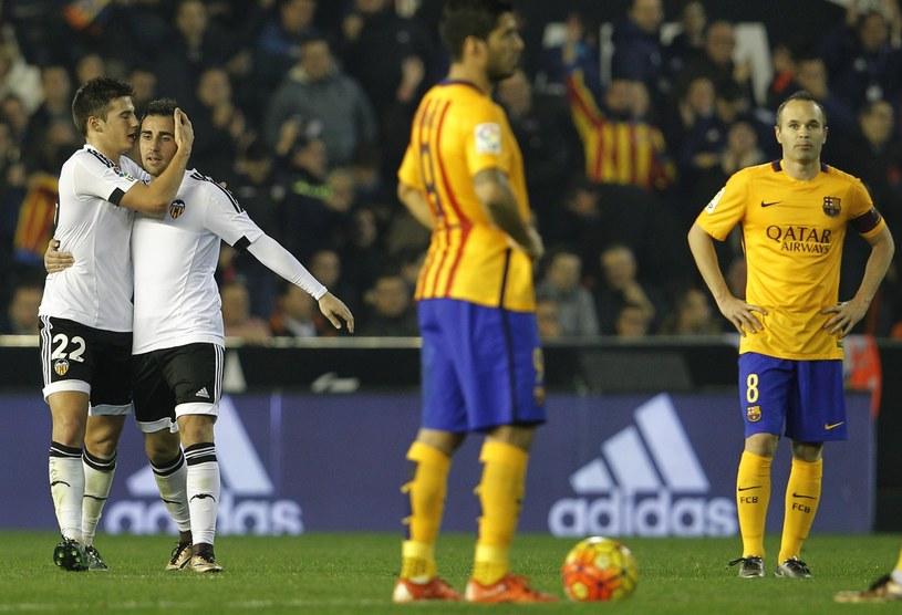 Santi Mina cieszący się po zdobyciu wyrównującego gola /AFP