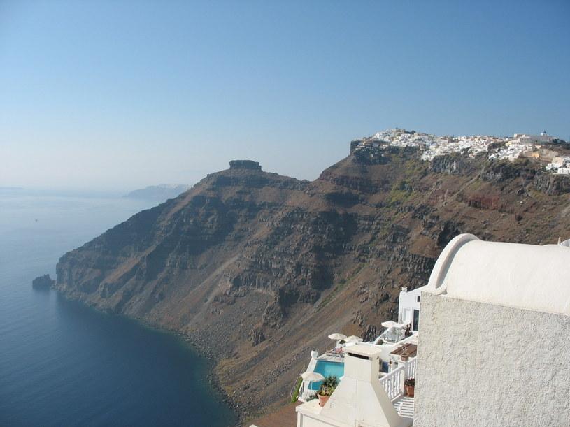 Santorini to część wielkiego wulkanicznego krateru /mim /INTERIA.PL