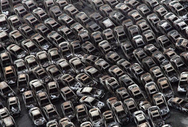 Saplone fabrycznie nowe samochody przeznaczone na eksport /AFP