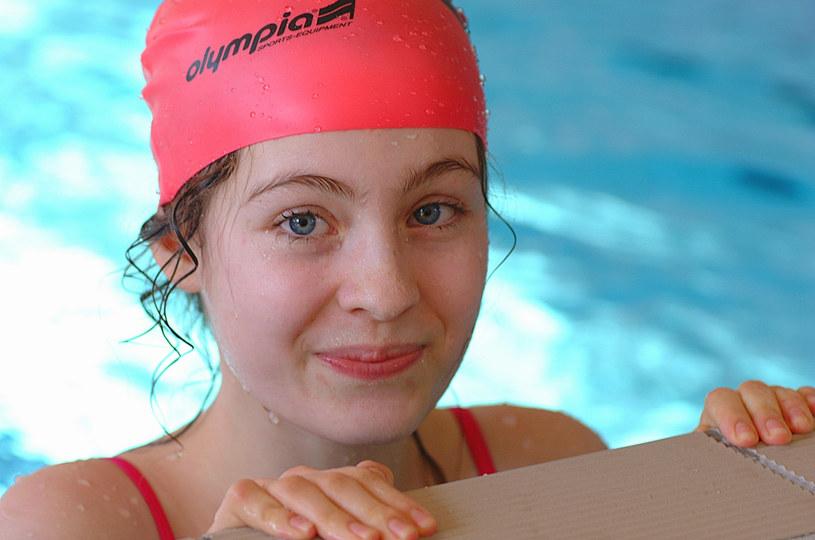 Sara Muldner na Zawodach Pływackich Aktorów (2003) /AKPA