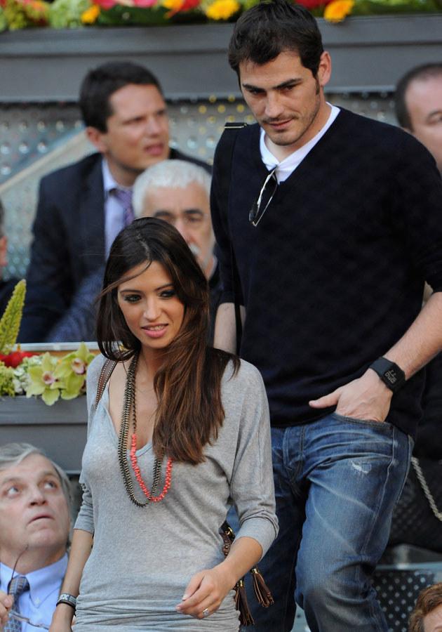 Sara nie świętowała wygranej Hiszpanii razem z ukochanym Ikerem Casillasem /Jasper Juinen /Getty Images