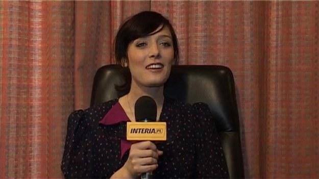 Sarah Blasko podczas rozmowy z INTERIA.PL /