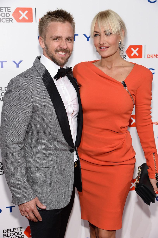 Sarah Connor z obecnym mężem /Dimitrios Kambouris /Getty Images