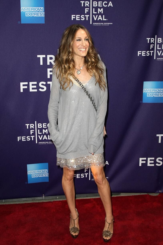 Sarah Jessica Parker w kreacji od Stelli  /Getty Images/Flash Press Media