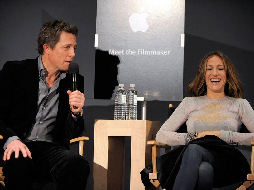 Sarah jest bardzo zabawna, potrafi mnie rozśmieszyć - mówi Hugh Grant  /Getty Images/Flash Press Media