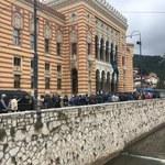 Sarajewo: Weterani starli się z policją