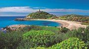Sardynia - sandał na morzu