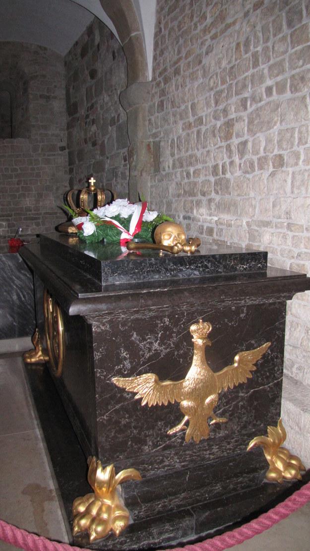 Sarkofag króla Jana III Sobieskiego /Maciej Grzyb /RMF FM