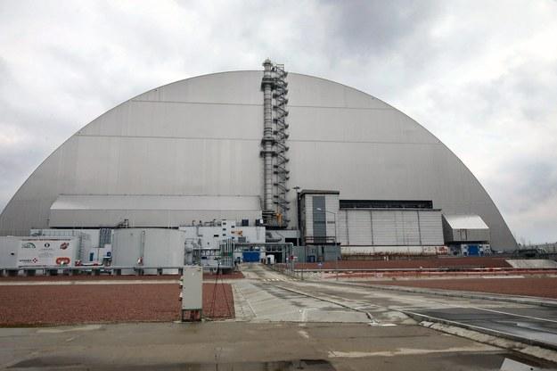 Sarkofag - tymczasowa konstrukcja zbudowana na gruzach czwartego reaktora Czarnobylskiej Elektrowni Jądrowej /Volodymyr Tarasov / Avalon /PAP/EPA