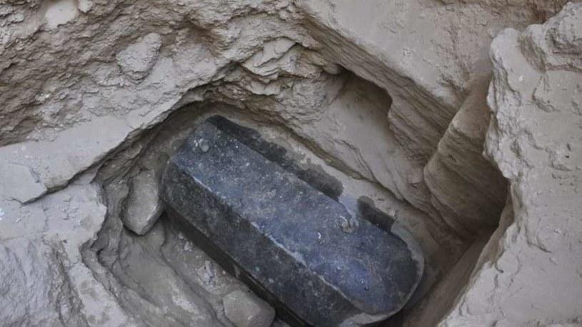 Sarkofag znaleziony w Aleksandrii /materiały prasowe