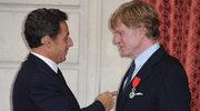 Sarkozy odznaczył Redforda