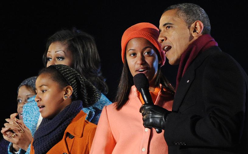 Sasha i Malia Obama przyszły na świat dzięki metodzie in vitro /Getty Images