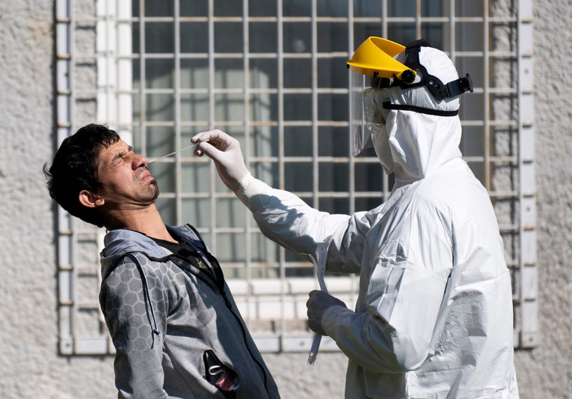 Sąsiad Polski także notuje rekordy zakażeń /JOE KLAMAR / AFP /East News