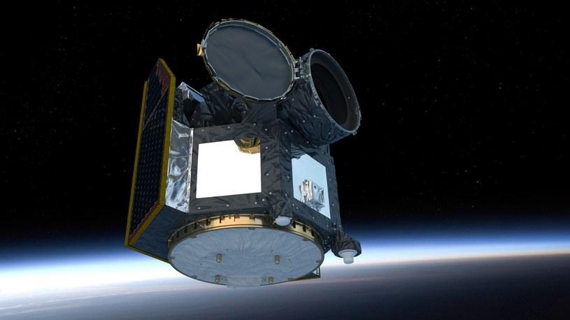 Satelita CHEOPS na orbicie / Fot: ESA/ATG medialab /materiały prasowe