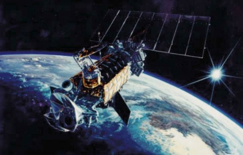 Satelita DMSP F13. /materiały prasowe