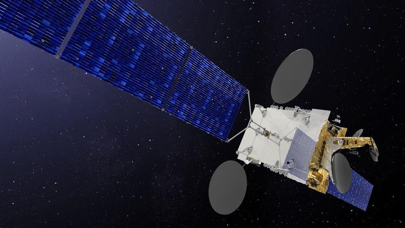 Satelita Nilesat 301 /materiały prasowe
