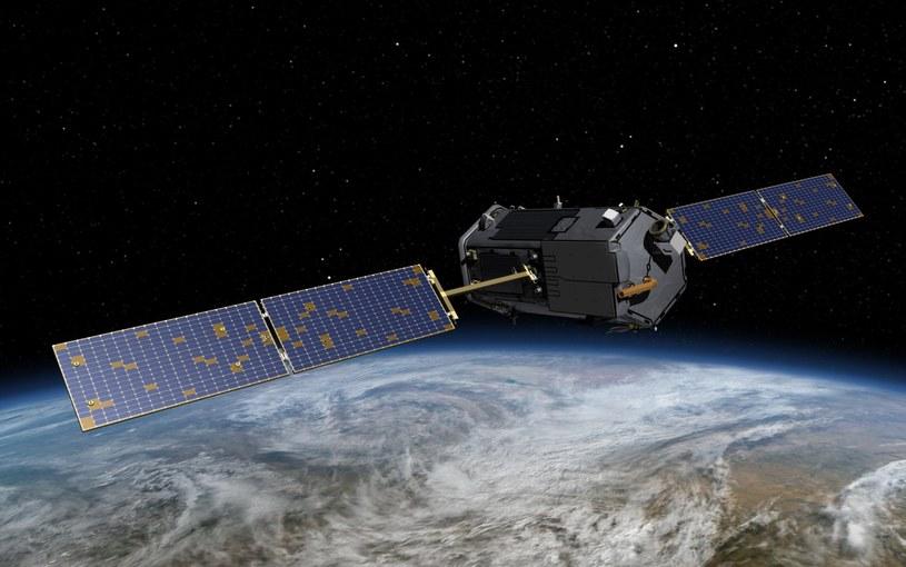 Satelita OCO-2 będzie określał poziom emisji CO2 do atmosfery. /materiały prasowe
