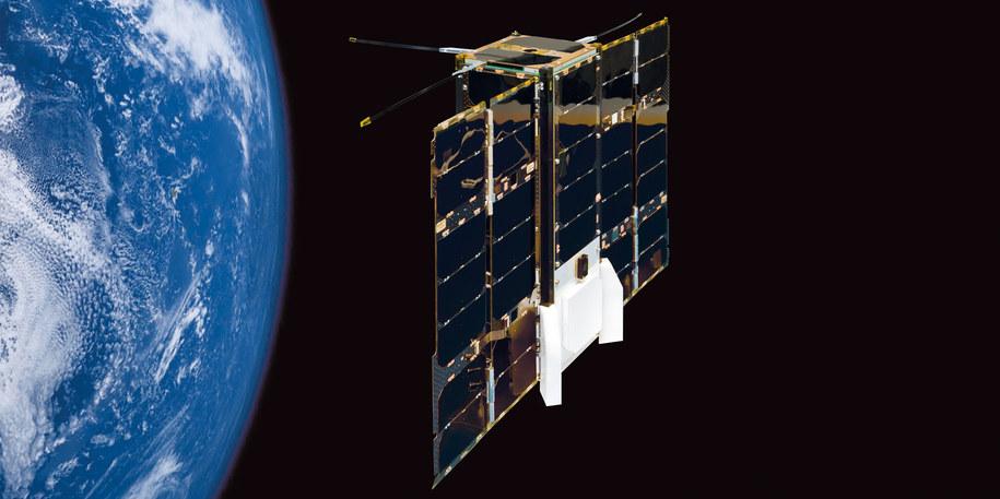 Satelita OPS-SAT jest już na orbicie. /© Lunghammer - TU Graz /Materiały prasowe