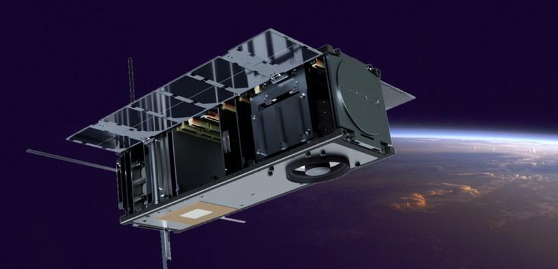 Satelita STORK, czyli BOCIAN /materiały prasowe
