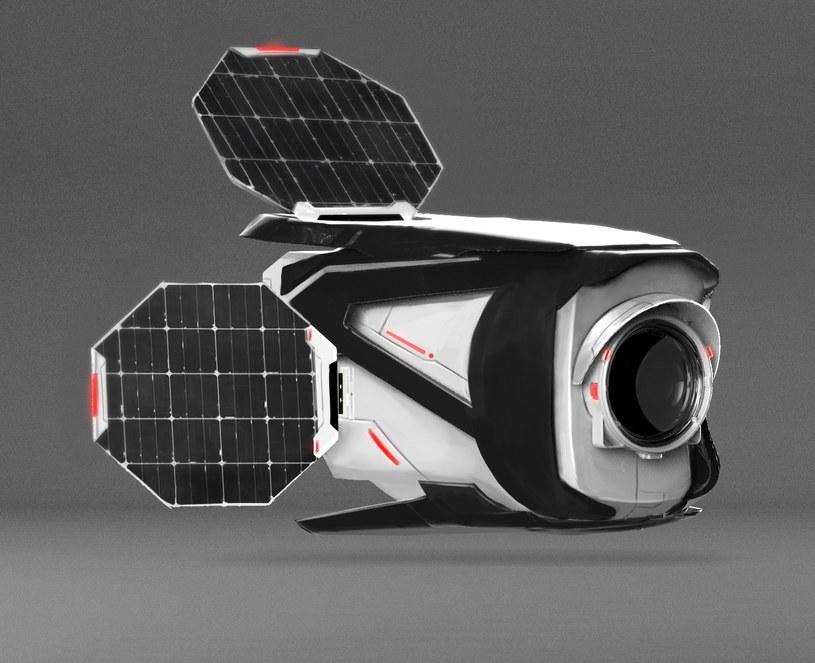 Satelita Światowid - wizualizacja /materiały prasowe