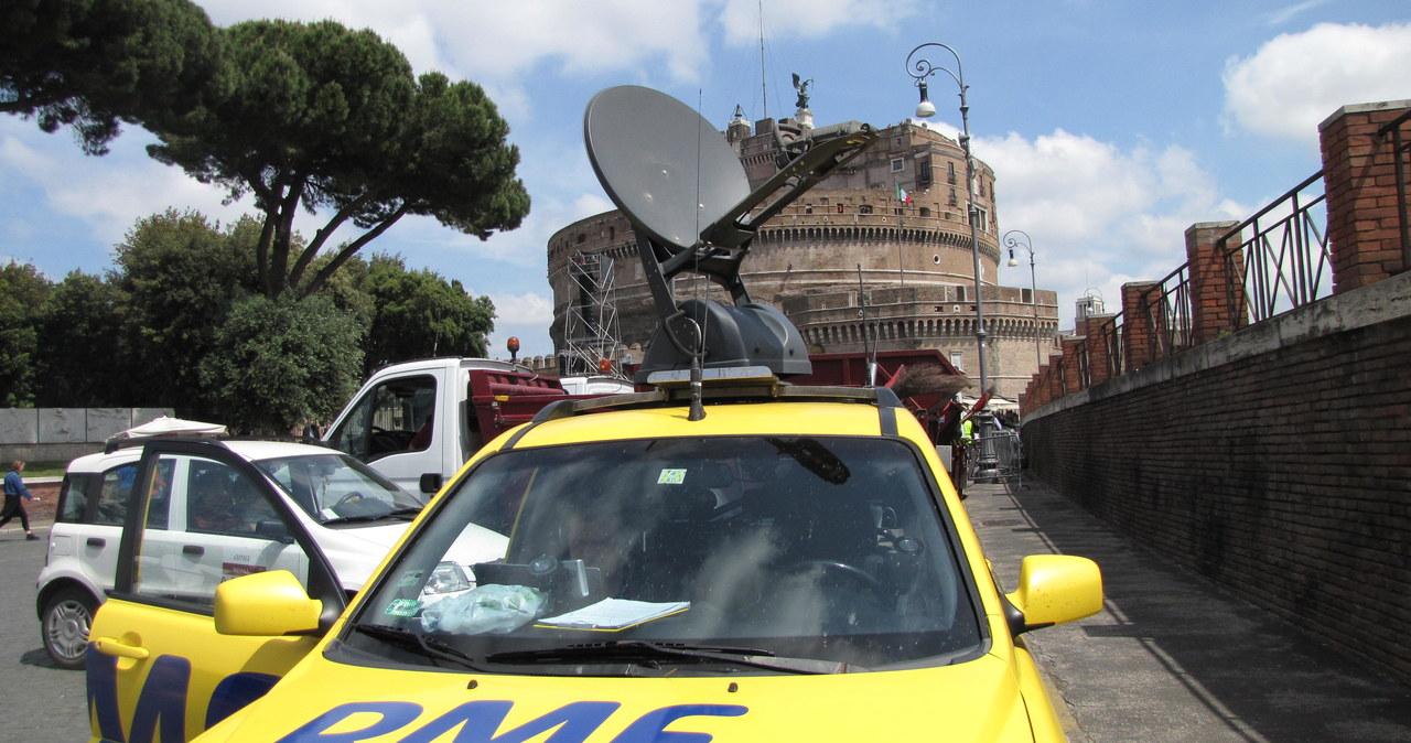 Satelitarne studio RMF FM nadaje z Watykanu!
