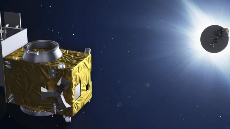 Satelity Proba-3 obserwują koronę słoneczną /materiały prasowe