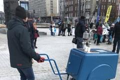 Saturator stanął na katowickim rynku