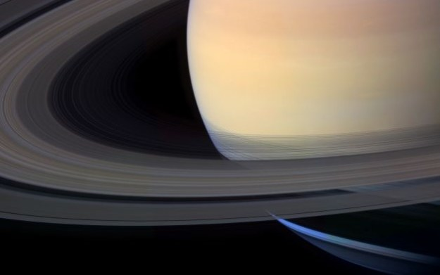 Saturn.   Fot. Mattias Malmer /NASA