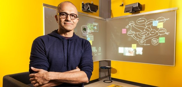 Satya Nadella - nowy CEO firmy Microsoft /materiały prasowe