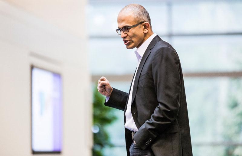 Satya Nadella - od 1992 roku w Microsoft /materiały prasowe