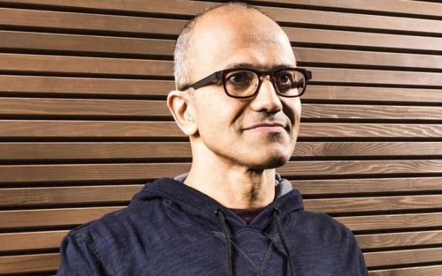 Satya Nadella - zdjęcie nowego prezesa Microsoftu /AFP