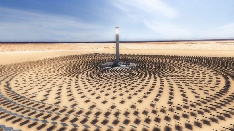 Saudyjczycy budują największy na Ziemi park solarny o mocy ponad 100 elektrowni jądrowych /Geekweek