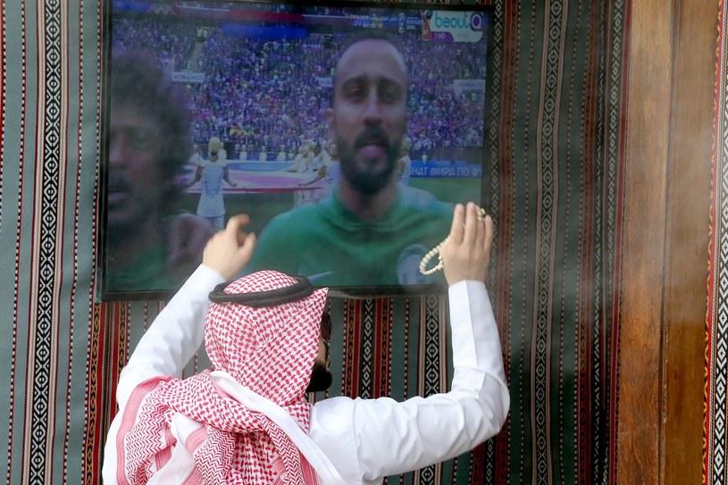 Saudyjczycy są rozczarowani występem swojej reprezentacji w meczu otwarcia MŚ /PAP/EPA