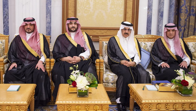 Saudyjska rodzina królewska /BANDAR ALGALOUD HANDOUT /PAP/EPA