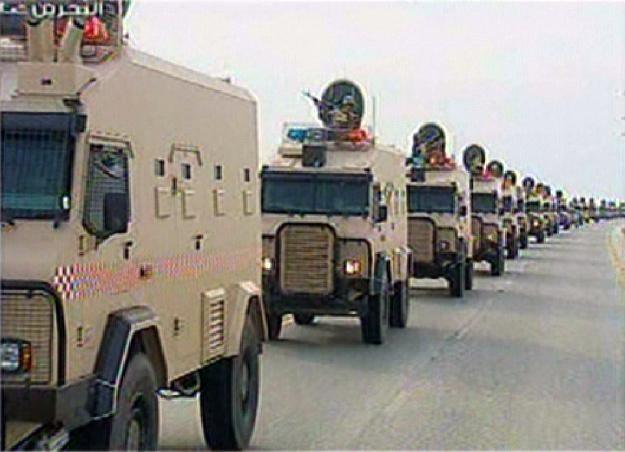 Saudyjskie oddziały wkraczają do Bahrajnu /AFP
