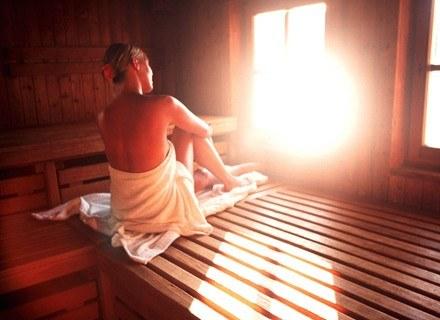 Sauna działa odprężająco /Getty Images/Flash Press Media