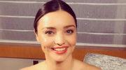 Sauna skóry twarzy - pielęgnacyjny trik Mirandy Kerr