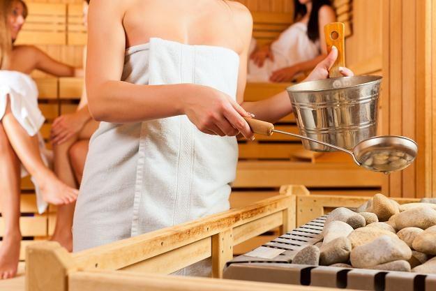 Sauna to nie kino, VAT jest wyższy /©123RF/PICSEL