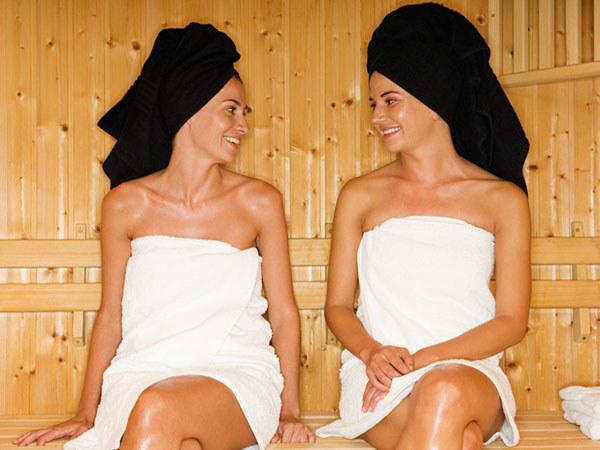 Sauna to świetny i zdrowy sposób na rozgrzanie organizmuP  /© Panthermedia