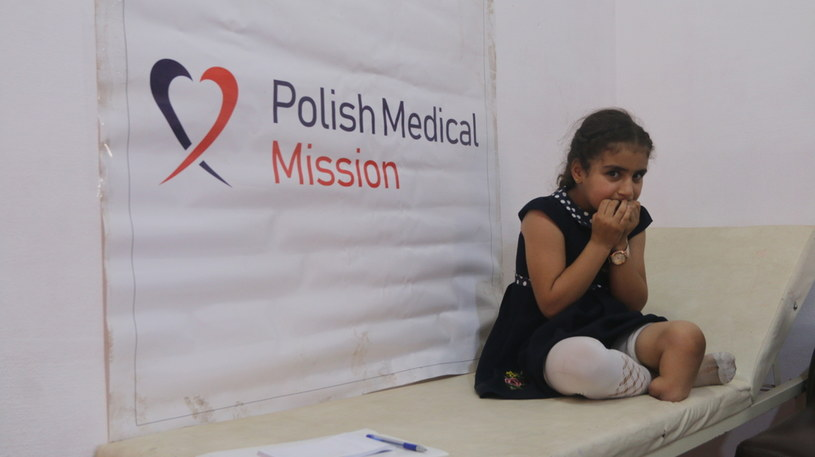 Sausan Ajam przeżyła bombardowanie rodzinnego domu w Idlib /Polska Misja Medyczna