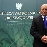 Sawicki złożył wniosek o odwołanie głównego lekarza weterynarii