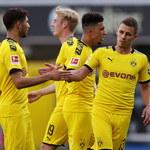 SC Paderborn 07 - Borussia Dortmund 1-6 w meczu 29. kolejki Bundesligi