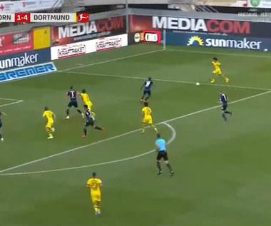 SC Paderborn - Borussia Dortmund 1-6 - skrót (ZDJĘCIA ELEVEN SPORTS). WIDEO