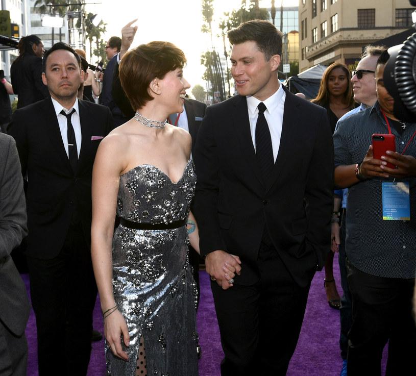 Scarlett Johansson i Colin Jost /Emma McIntyre /Getty Images