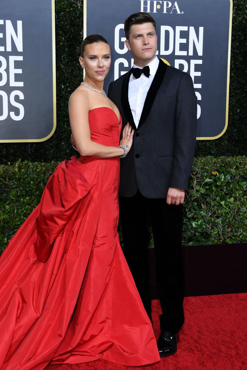 Scarlett Johansson i Colin Jost /VALERIE MACON/AFP/East News /East News