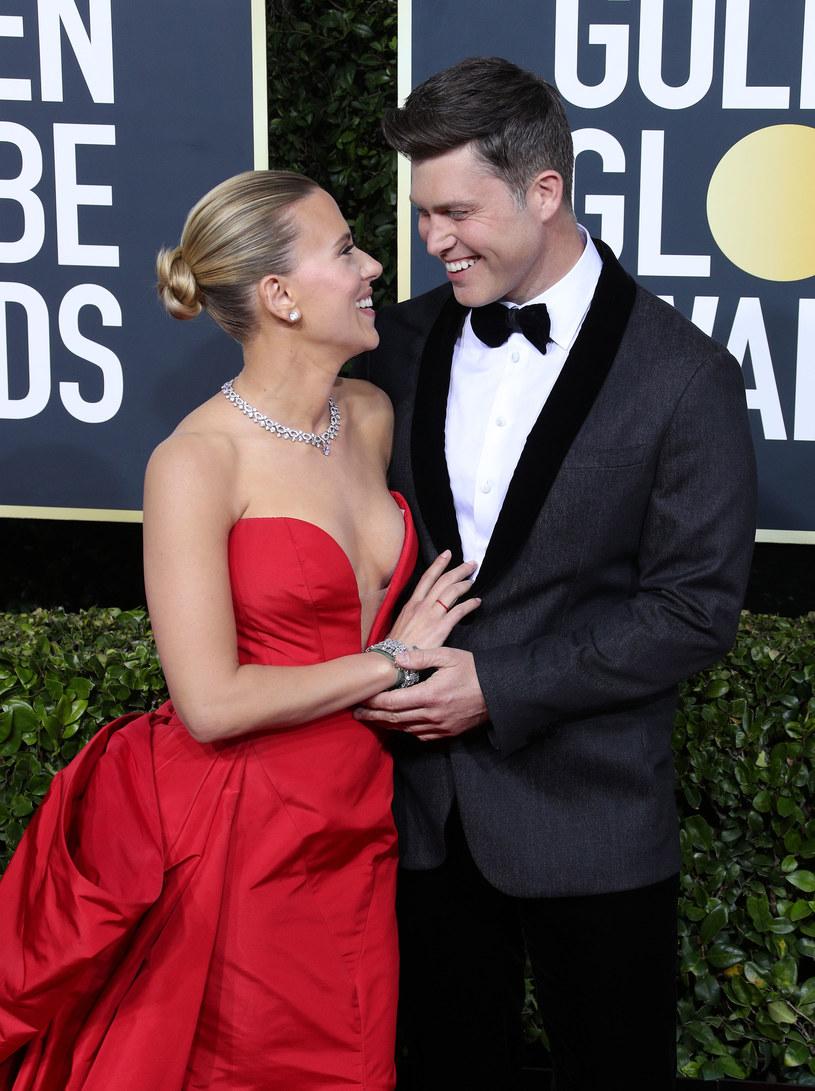 Scarlett Johansson i jej ukochany /ForumGwiazd /Agencja FORUM