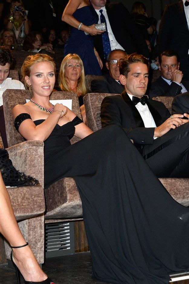 Scarlett Johansson i Romain Dauriac /Getty Images